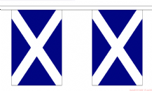SCOTLAND ST ANDREW BUNTING - 3 METRES 10 FLAGS